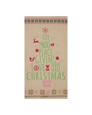Nordic Christmas 24 In. Panel Multi