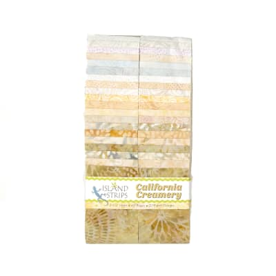 "California Creamery 2.5"" Batik Strip Pack"