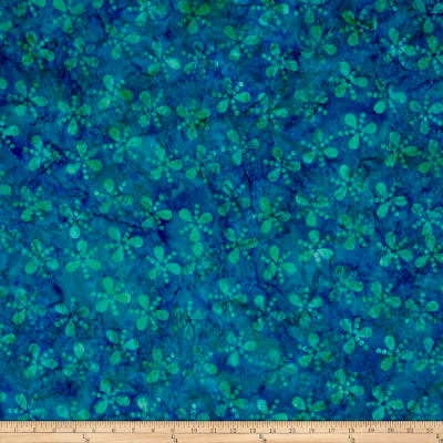 Island Batik Lavish Seeds & Dots Blue/Aqua