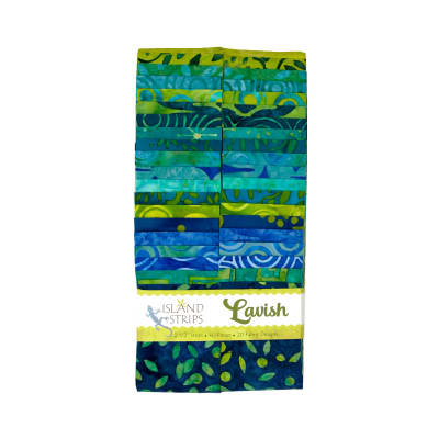 "Lavish 2.5"" Batik Strip Pack"