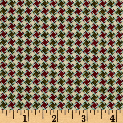 My Precious Quilt Houndstooth Cream
