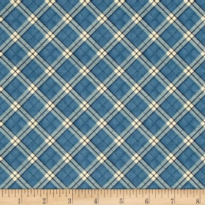 My Precious Quilt Plaid Blue