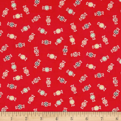 25 Days of Christmas Candy Light Red