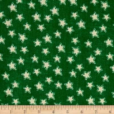 Craft Paper Christmas Stars Green