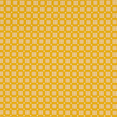 Kaufman Morningside Farm Geo Plaid Yellow