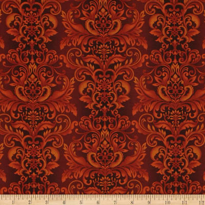 Welcome Harvest Damask Rust