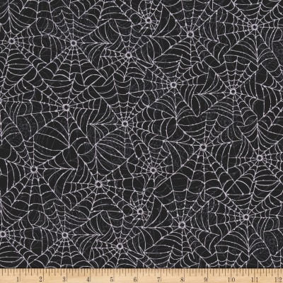 Spellbound Spider Web Black