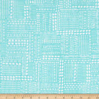 Blush & Blooms Dotted Patchwork Aqua