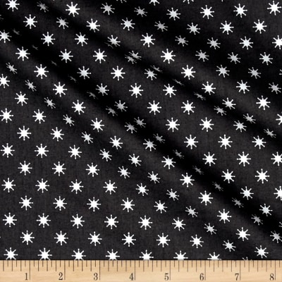 Lewis & Irene Northern Lights Metallic Stars Navy