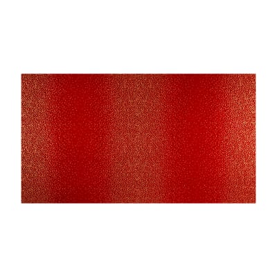 Kaufman Winter's Grandeur 4 Metallics Double Border Dots Holiday