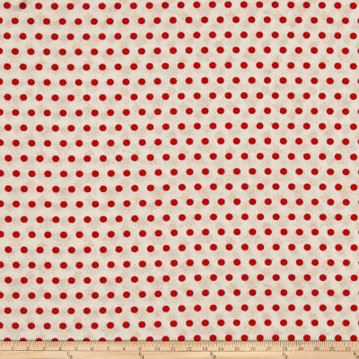 Woodland Holiday Dots Red