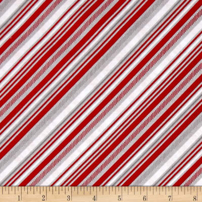 Riley Blake Play Ball 2 Stripe Red