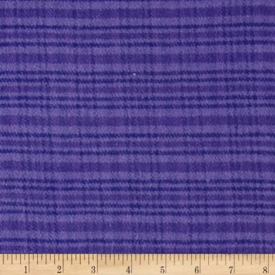 Color Catchers Yarn-Dye Flannel Large Plaid Purple