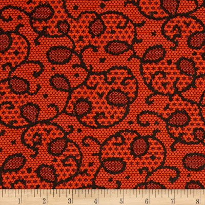 Verna Mosquera Candelabra Midnight Lace Orange