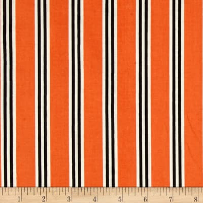 Verna Mosquera Candelabra Candy Stripe Orange