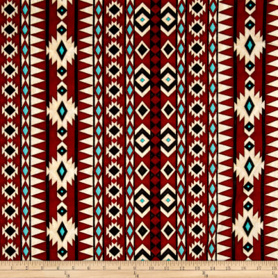 Spirit Of The Buffalo Navajo Stripe Brown