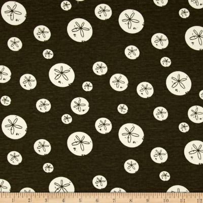 Birch Organic Maritime Interlock Knit Sand Dollars Brown