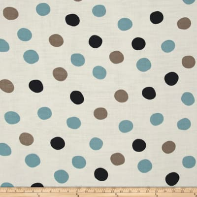 Birch Organic Mod Basics 3 Double Gauze Pop Dots Stormy