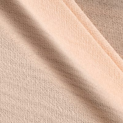 Light Weight French Terry Knit Warm Peach
