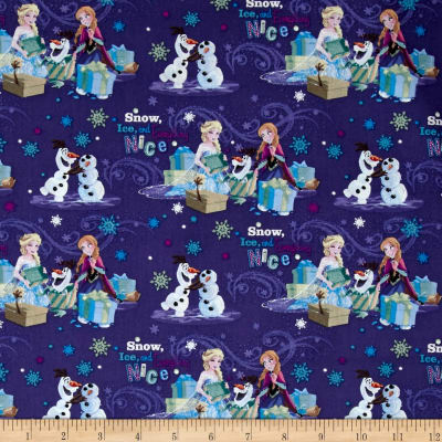 Disney Frozen Snow and Ice Blue