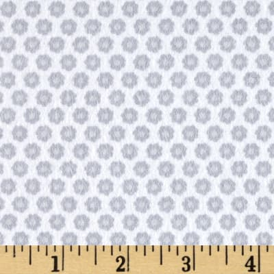 Michael Miller Nature Babies Flannel Lil Buds Gray