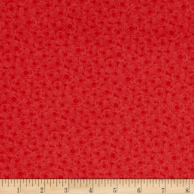 Chirpie Abstract Dots Red