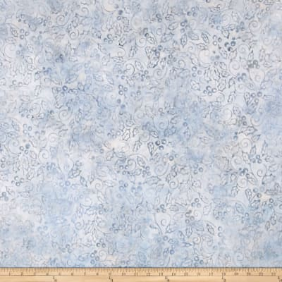 Kaufman Artisan Batiks Noel Metallic Collage Silver
