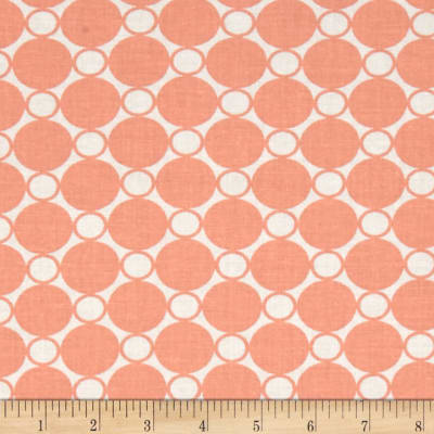 "Kaufman 108"" Wide Spot On Quilt Back Creamsicle"