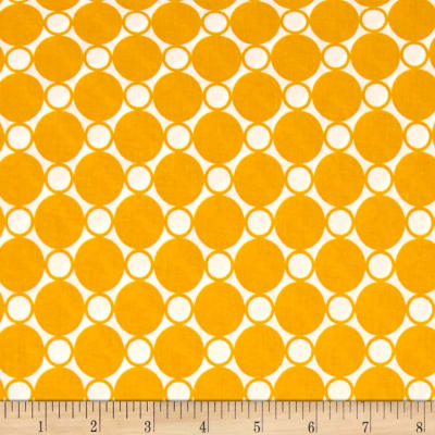 """Kaufman 108"""" Wide Spot On Quilt Back Curry"""
