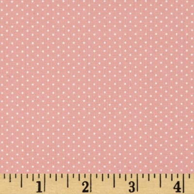 Kaufman Sevenberry Petite Basics Mini Dot Pink