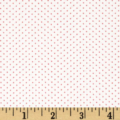 Kaufman Sevenberry Petite Basics Mini Dot Blossom