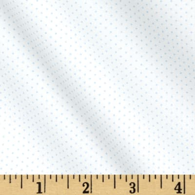 Kaufman Sevenberry Petite Basics Mini Dot Sky