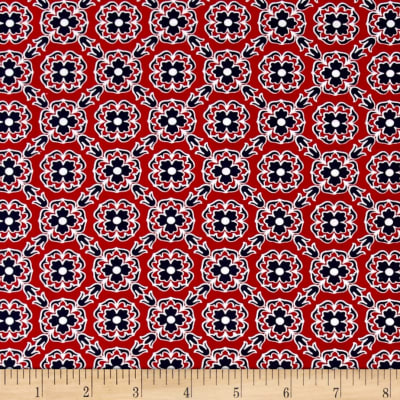 Kanvas Catalina Foulard Red