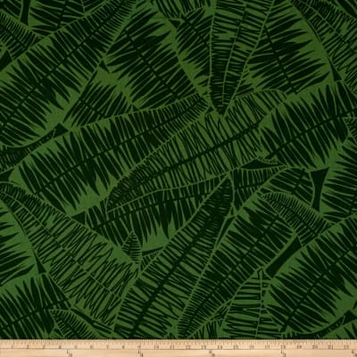 Kanvas Jungle Jive Palm Leaves Green