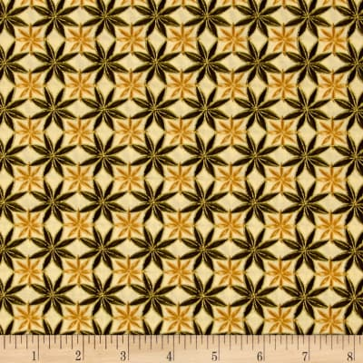Kanvas Siena Collection Cinnamon Star Maize