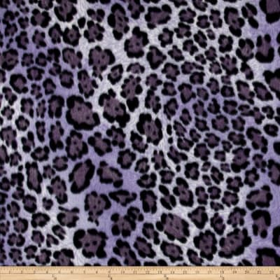 Polar Fleece Print Big Hunter Purple