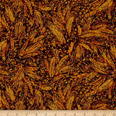 Moda Autumn Elegance Metallic Wheat Spice
