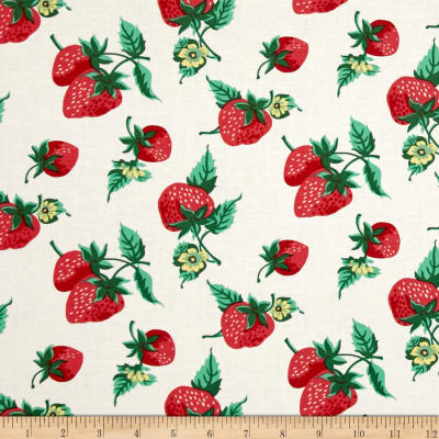Verna Mosquera Fruta y Flor Strawberry Patch Cloud