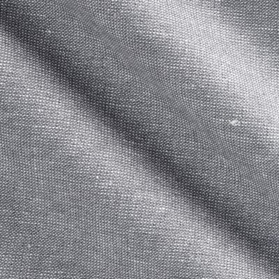 Kaufman Essex Yarn Dyed Linen Blend Metallic Fog