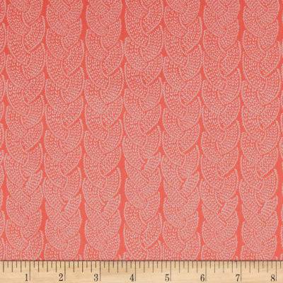 Dear Stella Snofall Knit Cable Coral