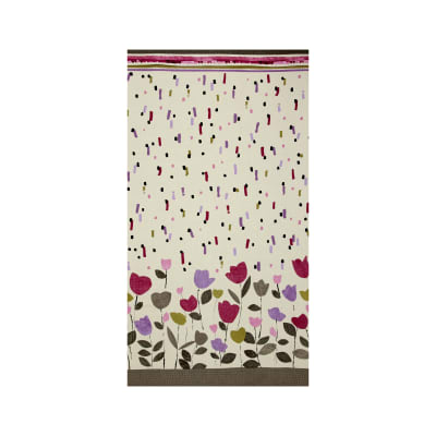Contempo Cachet Double Border Pink/Taupe
