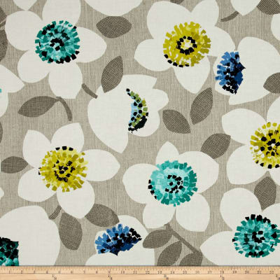 Contempo Cachet Large Floral Green/Gray