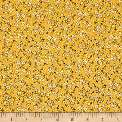Indian Summer Cottage Floral Yellow
