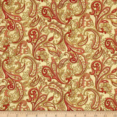 Indian Summer Paisley Cottage Antique/Coral