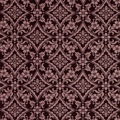 Left Bank Damask Purple