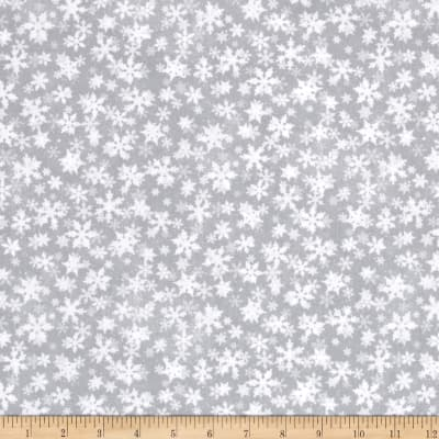 Essentials Snowflakes Gray