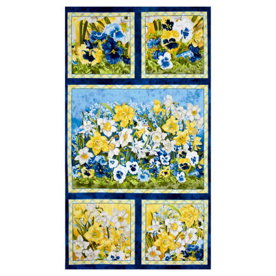 "Walking on Sunshine Craft 23"" Panel Multi"
