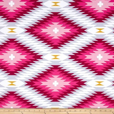 Joel Dewberry Wander Home Decor Sateen Azteca Rose