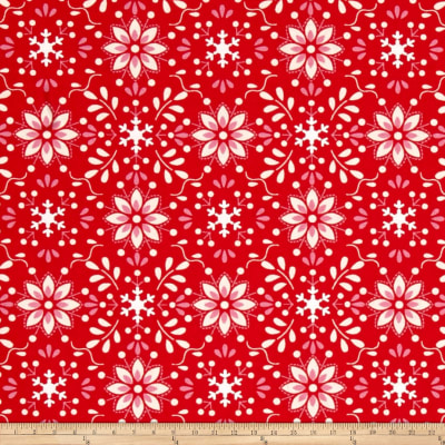 Merry Mistletoe Annaya Red
