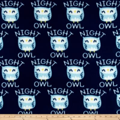 Night Owl Fleece Navy
